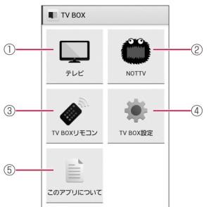 TV-BOXアプリ