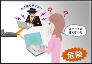 無線LAN不正アクセス