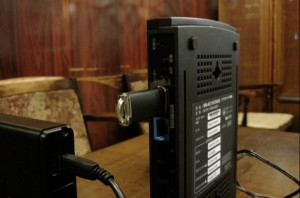 USBフラッシュメモリ接続状態
