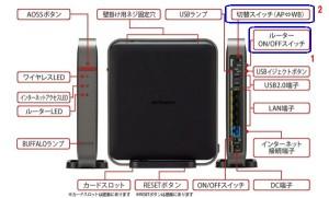 WZR-S1750DHP動作モードスイッチ