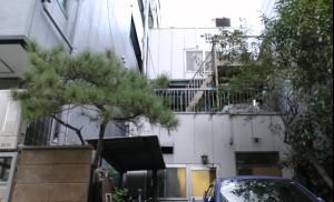 無線LAN電波テスト鉄骨三階建