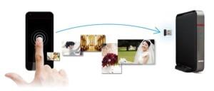 バッファロー写Syncのイメージ