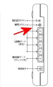 MZK-MF300HP2のプッシュスタートボタン