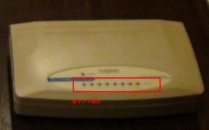 LAN-SW08/P 本体