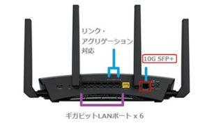 Nighthawk X10 スマートWiFiルーター R9000